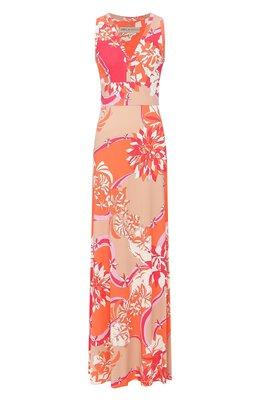 Платье из смеси вискозы и шелка Emilio Pucci 0EJI45/0E747