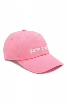 Хлопковая бейсболка Palm Angels PMLB009S202240235301