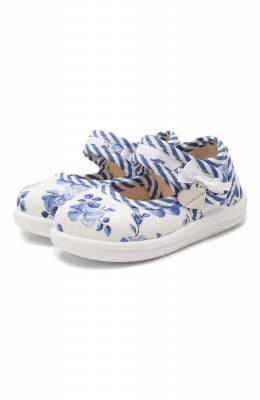Текстильные туфли Monnalisa 835011
