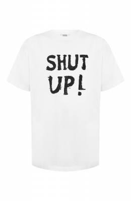 Хлопковая футболка Vetements SS20TR302 1621/M