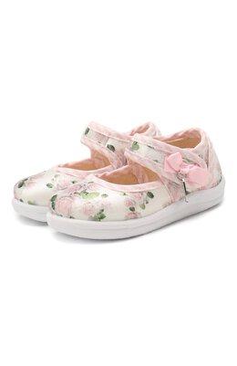 Текстильные туфли Monnalisa 835017