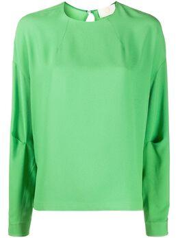 Sara Battaglia блузка свободного кроя SB1006TE305S0