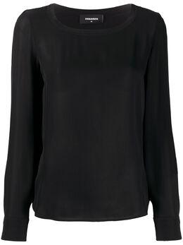 Dsquared2 блузка с длинными рукавами S75NC0922S52626