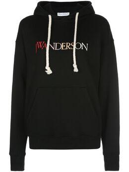 J.W. Anderson худи с вышитым логотипом JE0035PG0253999