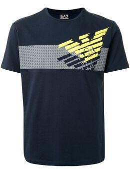 Ea7 футболка с короткими рукавами и логотипом 3HPT49PJQ9Z