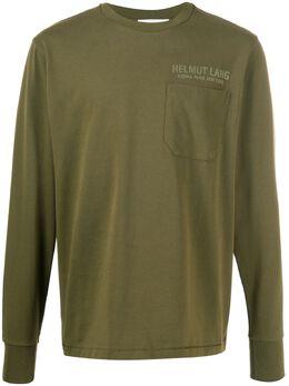 Helmut Lang футболка с длинными рукавами K01DM514CZ1C