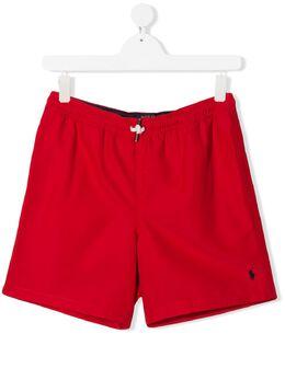 Ralph Lauren Kids плавки-шорты с логотипом 323785582
