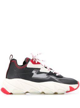 Ash кроссовки на платформе с принтом S20ELIPSE02