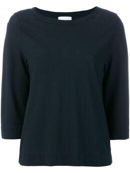Zanone свитер с вырезом-лодочкой 852006Z0480