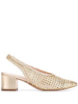 Schutz плетеные туфли S2059800310007