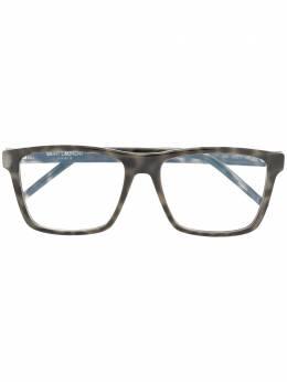 Saint Laurent Eyewear очки в оправе черепаховой расцветки SL337