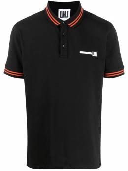 Les Hommes Urban рубашка-поло с логотипом UXT500730U