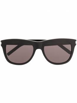 Saint Laurent Eyewear солнцезащитные очки SL51 Over в квадратной оправе SL51OVER