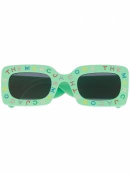 Marc Jacobs Eyewear солнцезащитные очки The Logo в прямоугольной оправе MARC488S