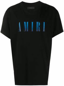 Amiri футболка с короткими рукавами и логотипом S0M0337CJ