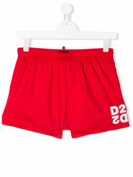 Dsquared2 Kids плавки-шорты с логотипом DQ044KD00QK
