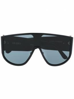Linda Farrow солнцезащитные очки в массивной оправе с логотипом ATTICO1C1SUNMET2100