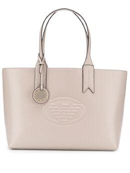 Emporio Armani сумка-тоут с логотипом Y3D099YH18A80100
