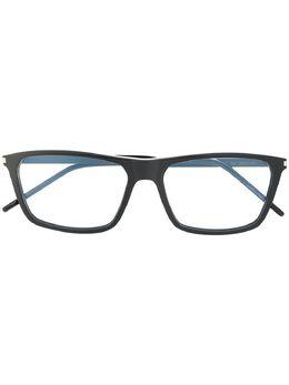 Saint Laurent Eyewear очки в квадратной оправе SL344