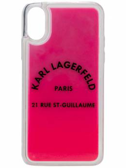 Karl Lagerfeld чехол Rue St Guillaume для iPhone X/XS KL20TRXS510