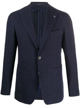 Tagliatore однобортный пиджак узкого кроя 1SMC26K97UEG152