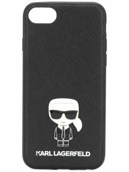 Karl Lagerfeld чехол Ikonik Pin для iPhone 8 KL20BMB8999