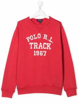 Ralph Lauren Kids свитер с принтом 323786408