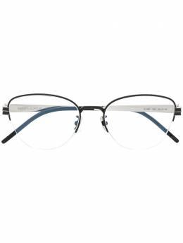 Saint Laurent Eyewear очки в овальной оправе SLM64
