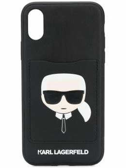 Karl Lagerfeld чехол Karl Cardslot для iPhone X/XS KL20CRXS999