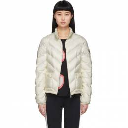 Moncler White Down Lanx Jacket 1A535 00 C0355