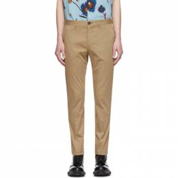 Ps by Paul Smith Tan Slim Chino Trousers M2R-921P-D20028