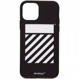 Off-White Black Diagonal iPhone 11 Pro Case OMPA022S20PLA002M9M0