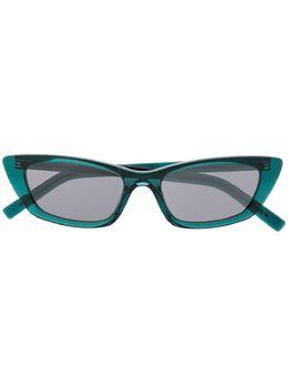 Saint Laurent Eyewear солнцезащитные очки SL277 в оправе 'кошачий глаз'