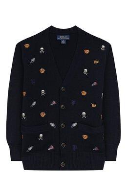 Шерстяной кардиган Polo Ralph Lauren 322764901