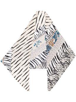 Pierre-louis Mascia полосатый шарф ALOEUWSW100X100RN