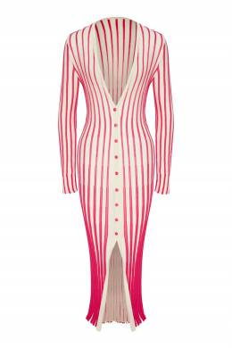 Вязаное платье в полоску Jacques Jacquemus 2985187197
