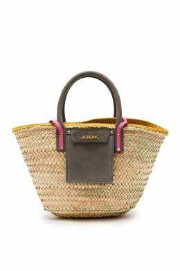 Соломенная сумка Le panier Soleil Jacquemus 2985187195
