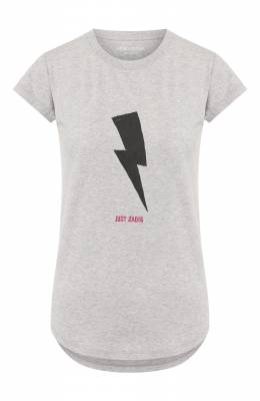 Хлопковая футболка Zadig & Voltaire SJTR1801F