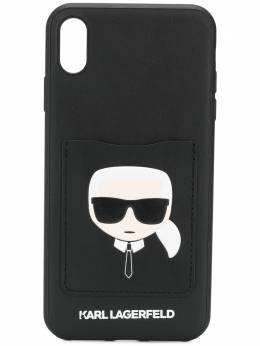 Karl Lagerfeld чехол Karl Cardslot для iPhone X/XS KL20CMAX999