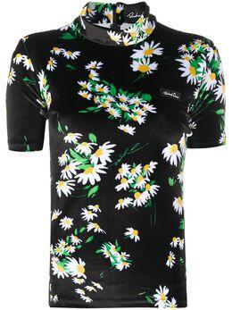 Richard Quinn футболка с цветочным принтом RQSS2060000