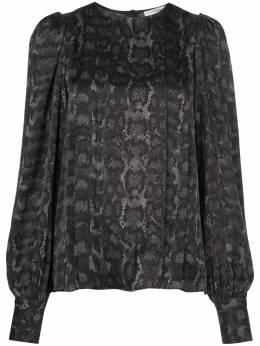 Anine Bing блузка Renee со змеиным принтом A072070012