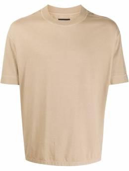 Joseph футболка оверсайз с круглым вырезом JF004473