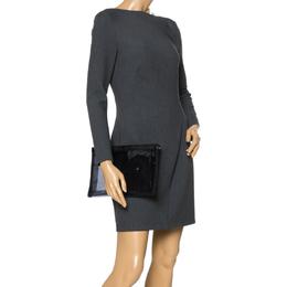 Dolce&Gabbana Black Transparent PVC Swimsuit Pouch