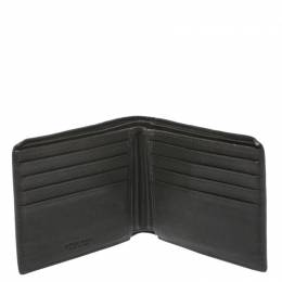Bottega Veneta Green/Grey Intrecciato Leather Bifold Wallet