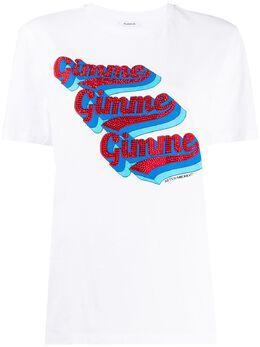 P.a.r.o.s.h. футболка с графичным принтом CIMMED110611
