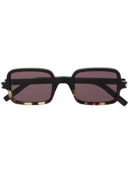 Saint Laurent Eyewear солнцезащитные очки в квадратной оправе 594665Y9901