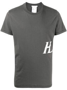Helmut Lang футболка с монограммой K02DM503