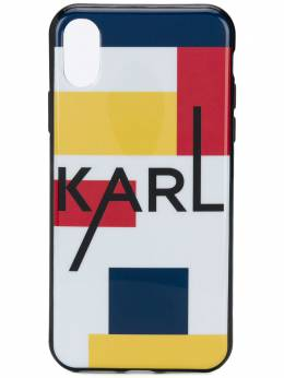 Karl Lagerfeld чехол Karl Bauhaus для iPhone X/XS KL20BHXS900