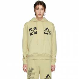 Off-White Beige Universal Key Hoodie OMBB034S20E300136110