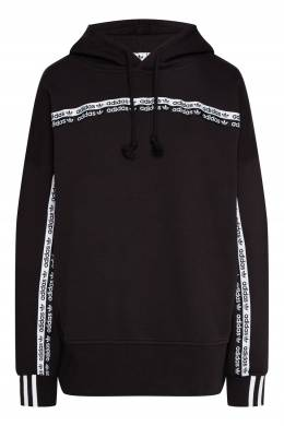 Черно-белое худи в винтажном стиле Adidas 819186513